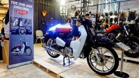 Honda Super Cub C125 di Customfest 2018
