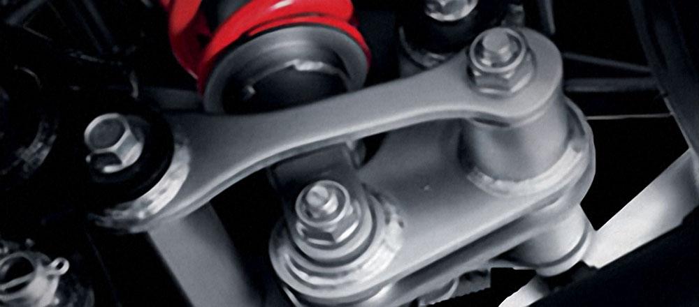 Shock Belakang CBR150R facelift bisa di setel keras atau empuk