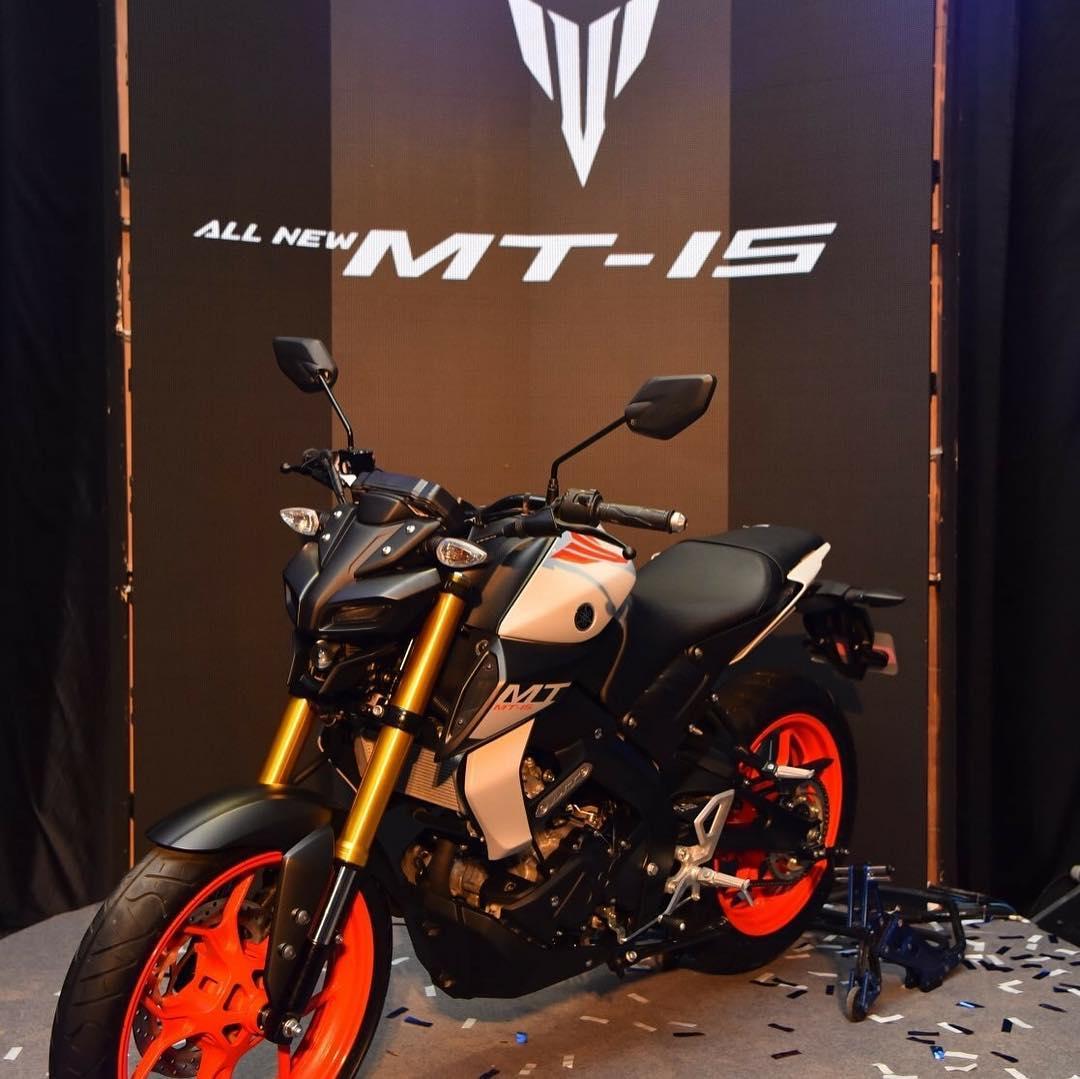Yamaha MT-15 dengan Spesifikasi mirip New R15