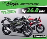 Harga Promo Ninja 250 SL Ninja Mono Rp 36,8 juta