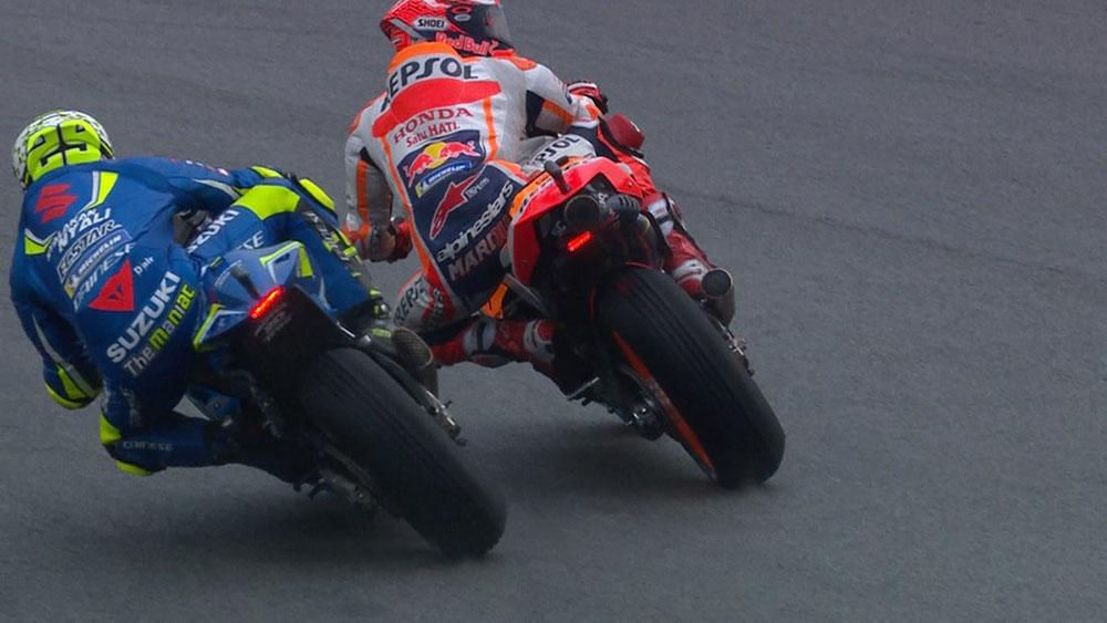 Marc Marquez Pole Position mengisi Start pertama MotoGP Malaysia 2018