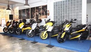 Modifikasi XMax 250 di CustoMAXI Yamaha 2018 Yogyakarta