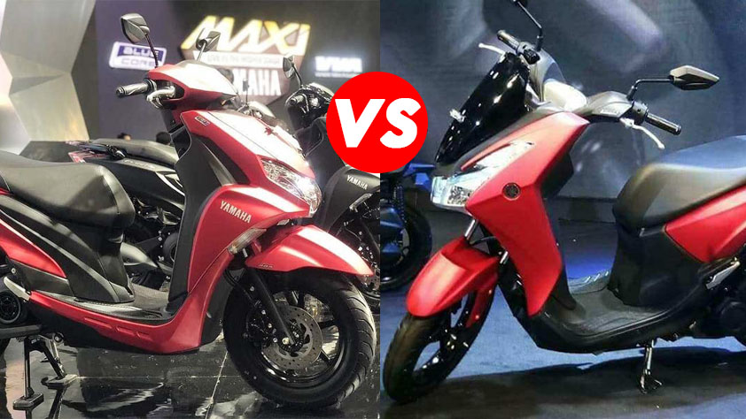 Perbandingan FreeGo vs Lexi 125