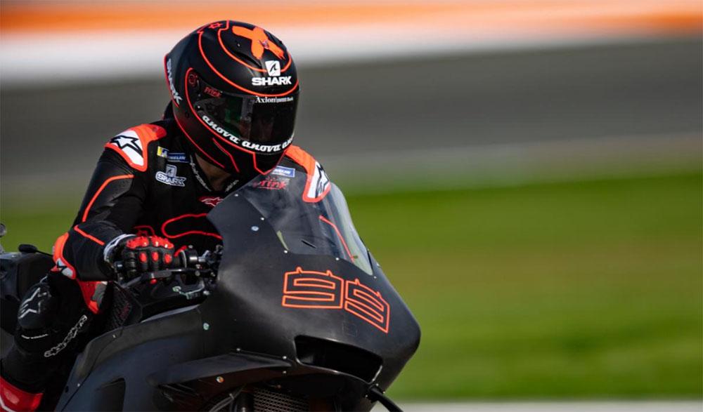 Jorge Lorenzo bersama Motor Honda RC213V