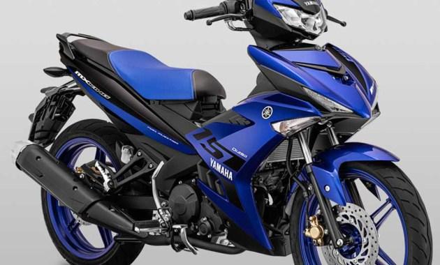 Yamaha Jupiter MX King facelift 2019 biru