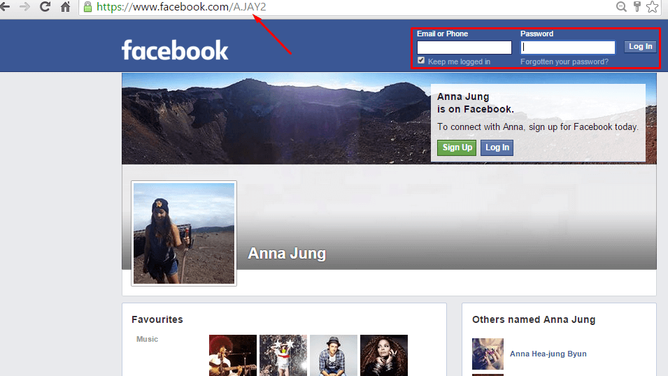 Facebook Profile Viewer