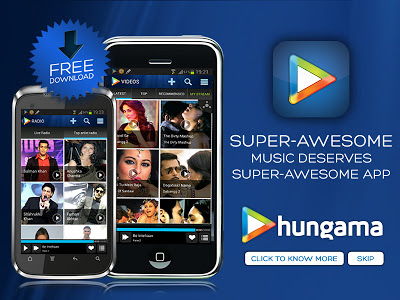 Hungama music app for android