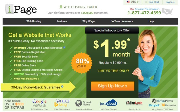 iPage Hosting For New Blog