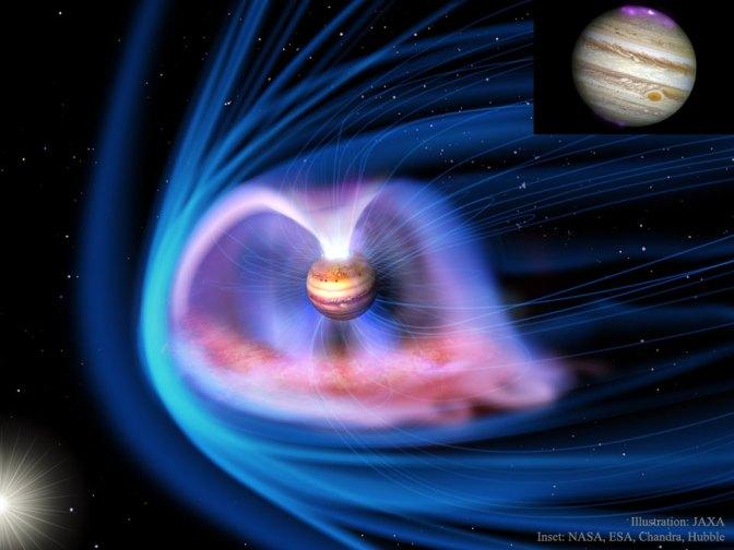 Questa immagine ha l'attributo alt vuoto; il nome del file è JupiterMagnetosphere_JAXA_960APOD.jpg