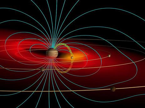 Questa immagine ha l'attributo alt vuoto; il nome del file è Jupiter_magnetosphere-1.jpg