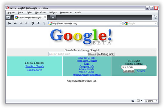 Google Retro by Blog Porta 80