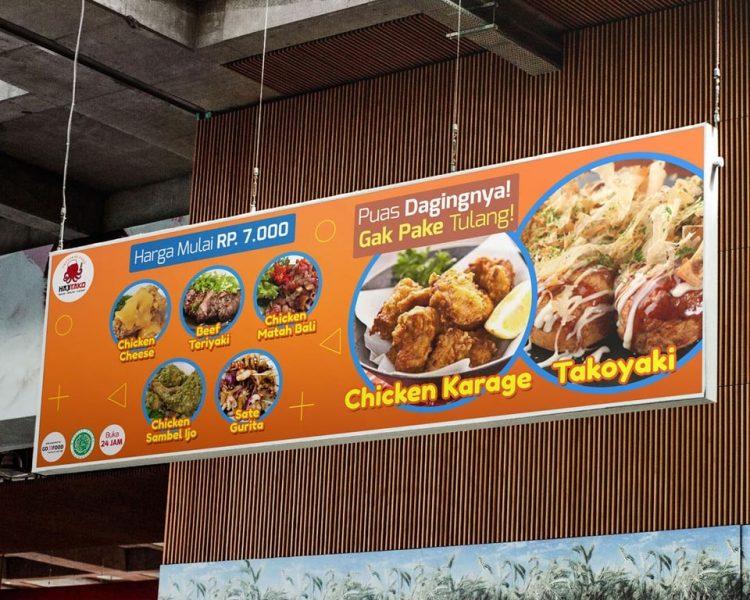 8 Contoh Banner Warung Makan Dan Menu Makanan