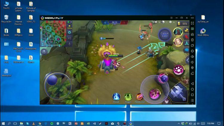 Cara Main Mobile Legend di PC