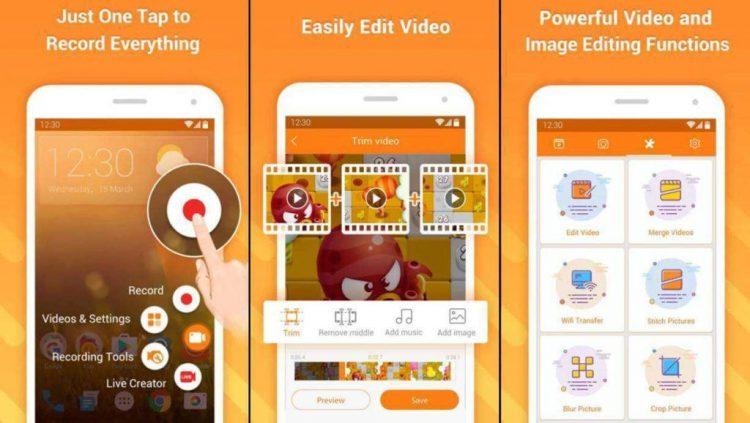 Aplikasi Perekam Layar Android DU Recorder