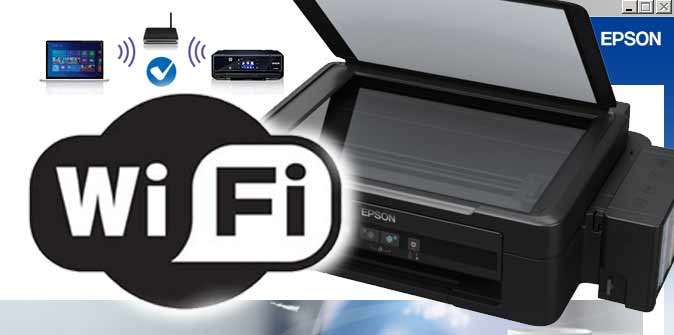 Cara mudah-Setting Wifi Printer Epson ke router