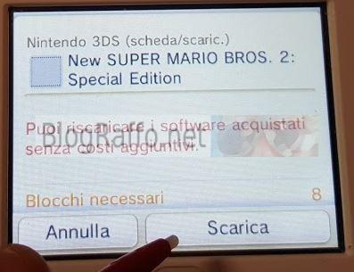 Nintendo 2DS recuperare software cancellato scarica