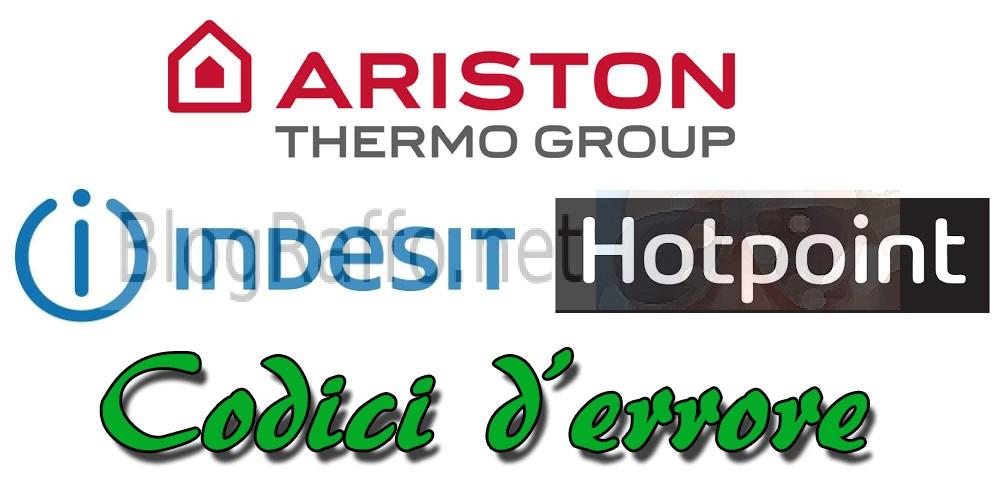 Tutti i CODICI D\'ERRORE lavastoviglie Ariston HotPoint Indesit ...