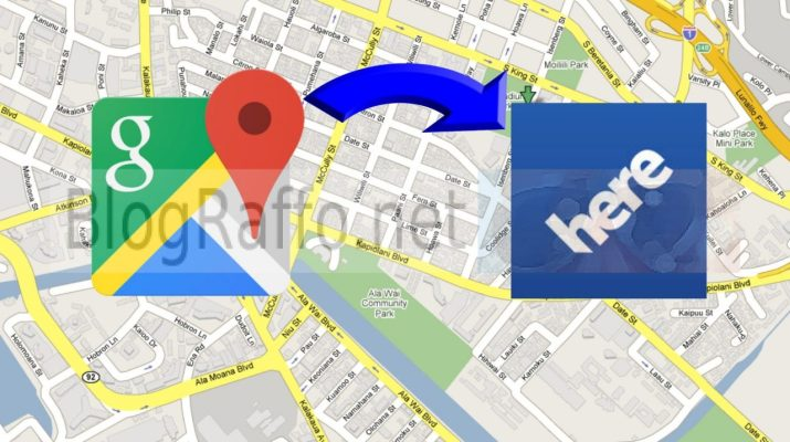 condividere posizione google maps