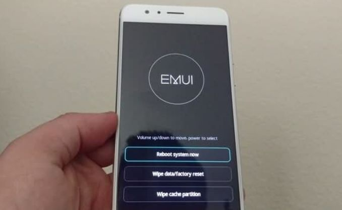 Huawei P20 menu ripristino - recovery mode