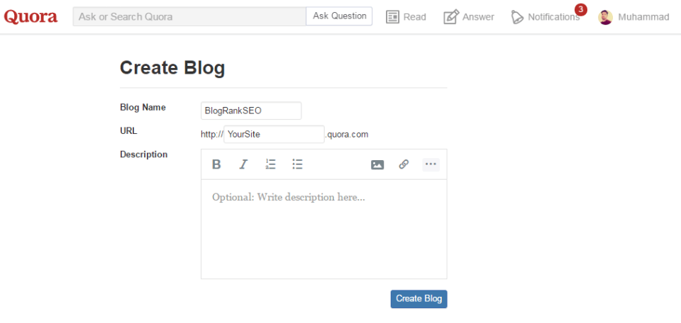 Create-a-Blog-On-Quora