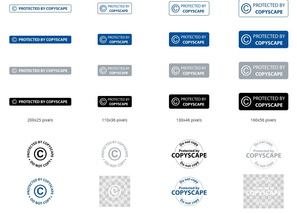 Copyscape-badges