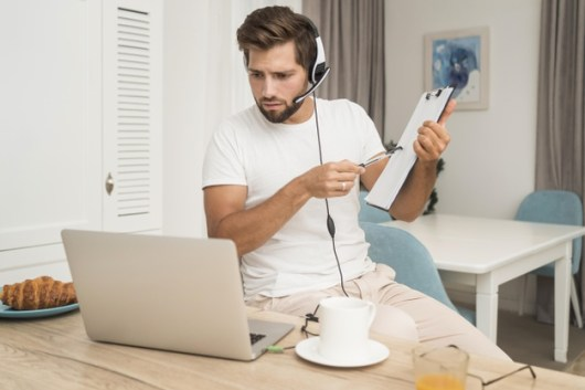 télétravail service client SVA