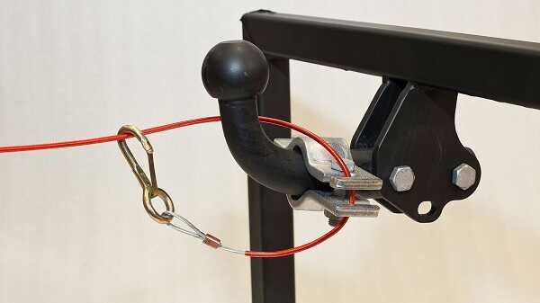 Cablu de siguranta frana rulota