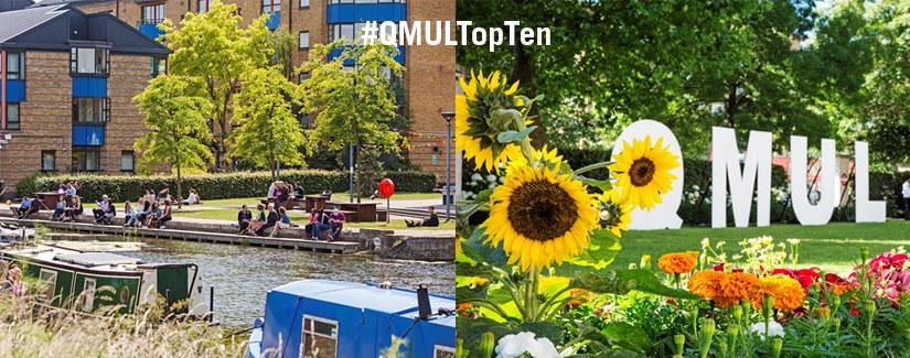 Vote for your favourite things about QMUL in the #QMULTopTen