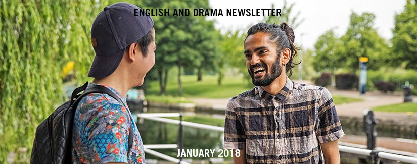 English and Drama Newsletter – January 2018
