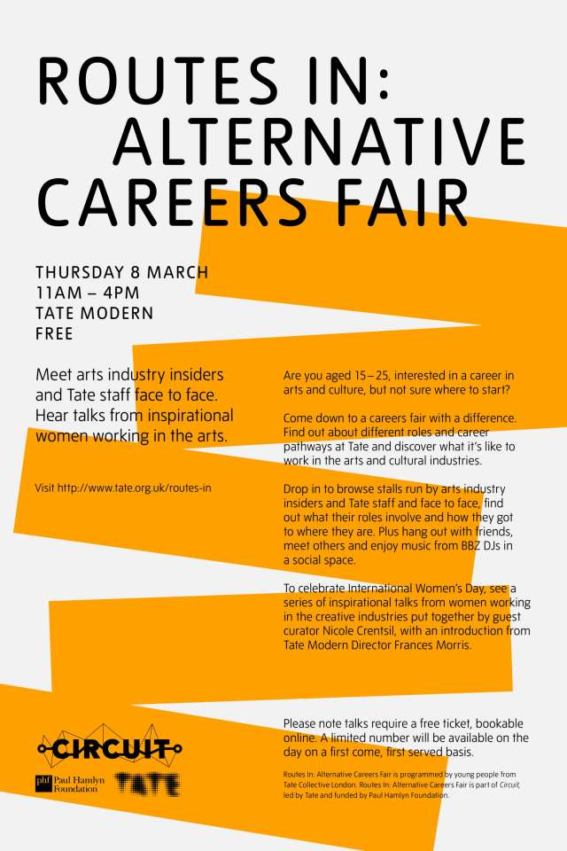 Routes in Alternative Careers Fair