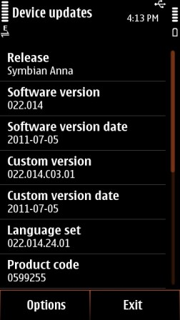Update Your Nokia N8,C7,E7 & C6-01 Phones To Symbian Anna OS