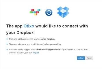 Dropbox - API Request Authorization