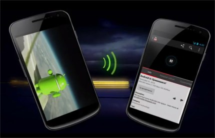 Android Beam with NFC