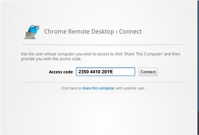 Put shared Randowm access code in remote site