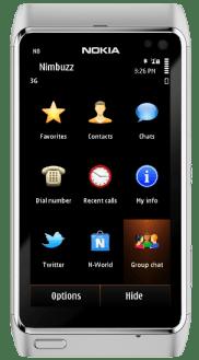Nimbuzz-for-Symbian-Home-screen