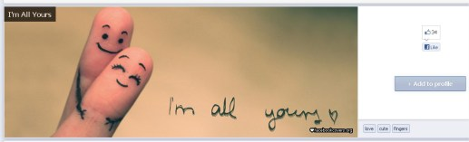 I'm All Yours Facebook Cover - FacebookCovers.org