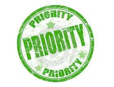 Work in priority
