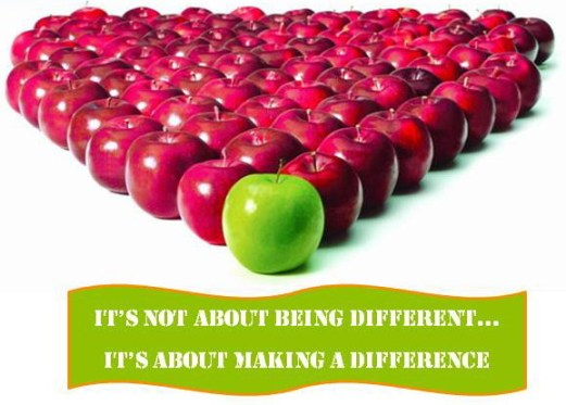 Being Different in blogging