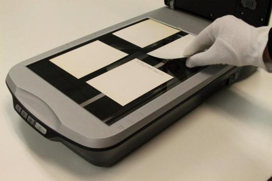 Scanning of photo scan digital