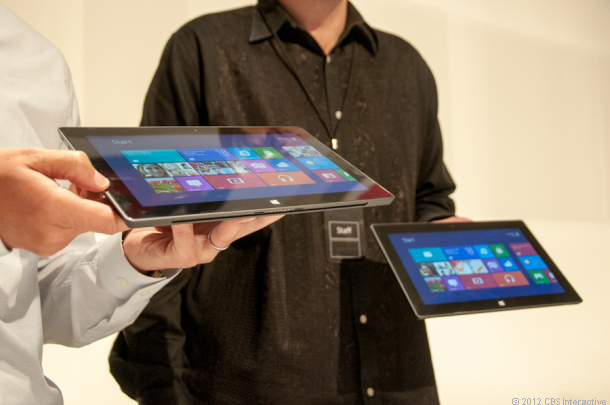 Microsoft surface Tablet look