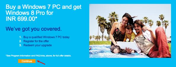 Windows Upgrade Offer