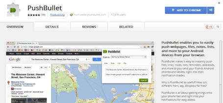 PushBullet App