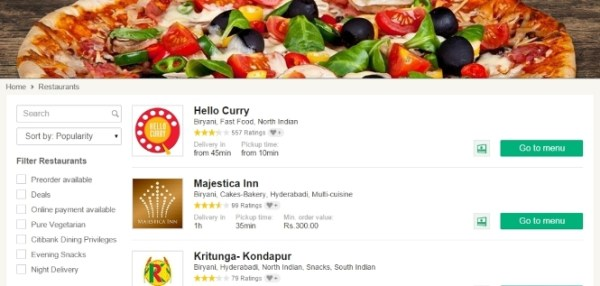 FoodPanda online order promo code