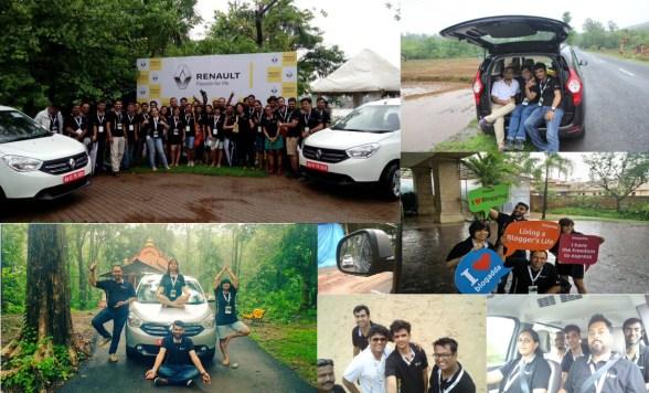 Renault Lodgy Goa Drive