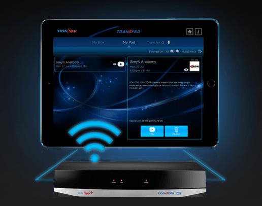Tata Sky Transfer Stream