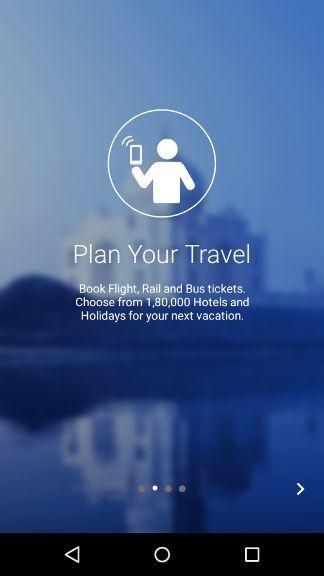 Make My Trip Mobile App