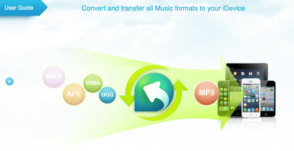 Convert Music iphone transfer