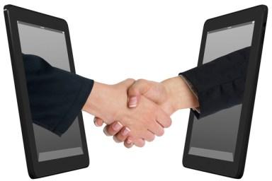 mobile-handshake-internet-handshake-greeting-mobile
