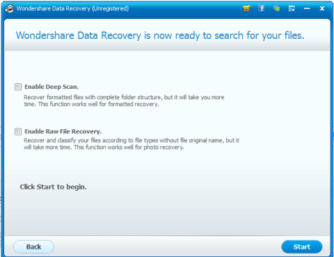 Wondershare Data Recovery Mac
