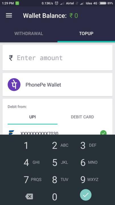 PhonePe Wallet